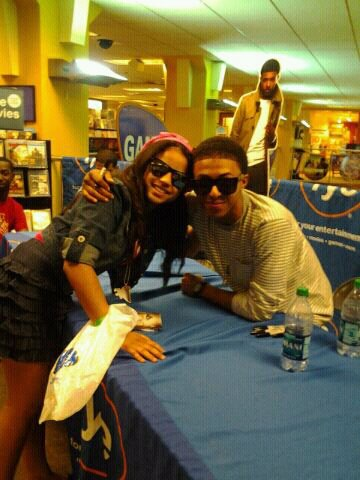 diggy and his fan on his birthday .