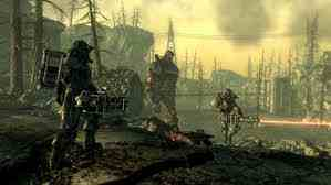 Fallout 3 壁纸 probably with a beech called fallout 3