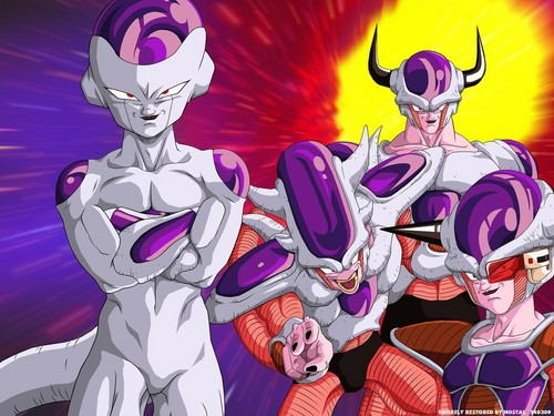 freiza transformations