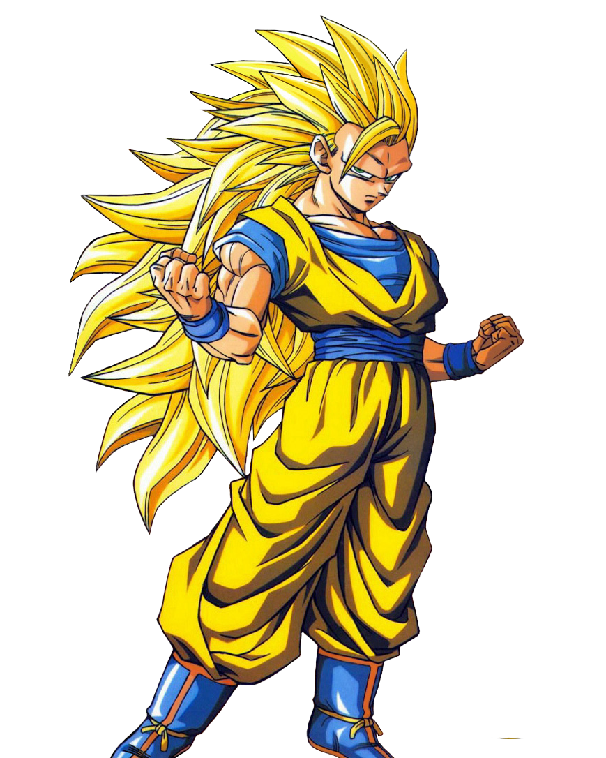 Dragon Ball Z goku ssj3