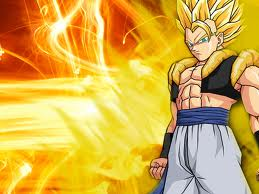 Dragon Ball Z wallpaper containing anime entitled its my favourite gogeta
