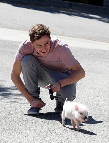kendall and his pig Yuma!!!!!