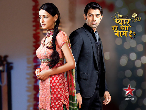 Iss Pyar Ko Kya Naam Doon wallpaper containing a bridesmaid entitled khushi and arnav