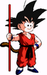 kid goku - goku icon