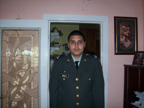 me in JROTC uniform