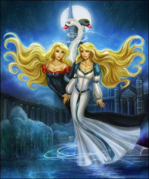 Odette - The Swan Princess All time favorite princessPrincess Odette