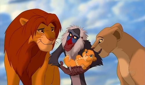 Disney Parents karatasi la kupamba ukuta possibly containing anime entitled simba and nala