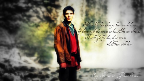tell Gaius - merlin-on-bbc Fan Art