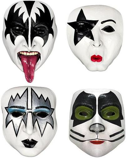 Kiss Band Members With Makeup: KISS Army Images ☆ Kiss Masks ☆ Wallpaper And Background