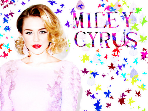 MiLeY bY DaVe - miley-cyrus Wallpaper