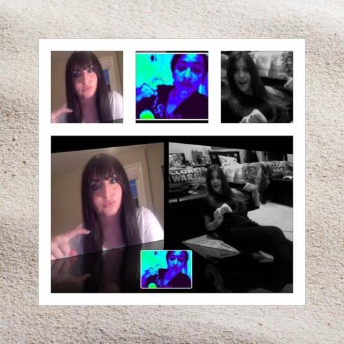 @_MlCHAELJACKSON and @ParisJackson paris copy madinas hair -__- stupid madina