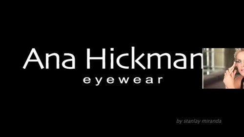 "Ana Hickmann wallpaper probably containing a portrait entitled ""Sunglasses & Eyeglasses Collection"""