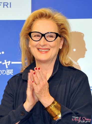 'The Iron Lady' Tokyo Press Conference [March 7, 2012]