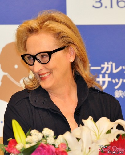 'The Iron Lady' Tokyo Press Conference [March 7, 2012] - meryl-streep Photo