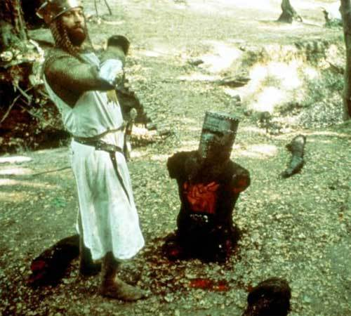 """Tis but a flesh wound!"""