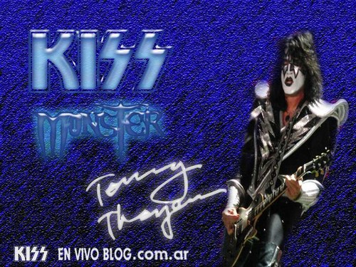 Tommy Thayer wallpaper possibly containing a sign and anime entitled ☆ Tommy ☆