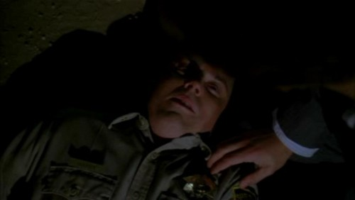 The Mentalist fond d'écran with a green beret, a rifleman, fatigues, and fatigue entitled 1x23- Red John's Footsteps
