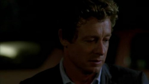 The Mentalist fond d'écran possibly containing a business suit entitled 1x23- Red John's Footsteps