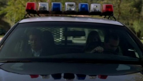 The Mentalist karatasi la kupamba ukuta possibly with a cruiser titled 1x23- Red John's Footsteps