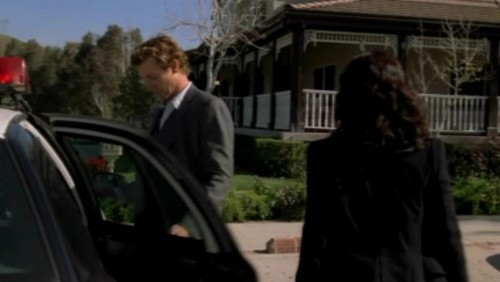 The Mentalist wallpaper titled 1x23- Red John's Footsteps