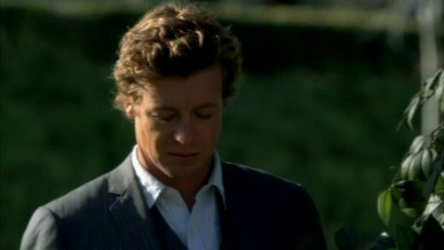 The Mentalist wallpaper possibly with a grainfield, a business suit, and cultivated rice called 1x23- Red John's Footsteps