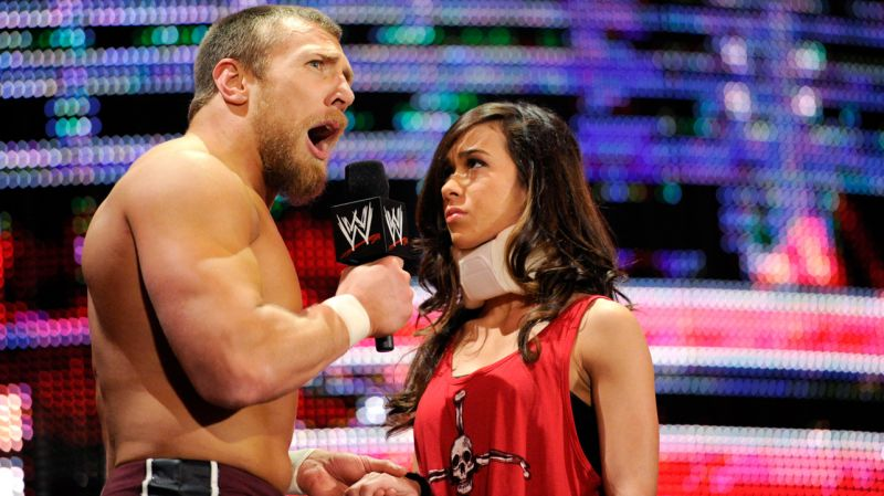 AJ Lee AJ Lee and Daniel Bryan WWE s Power CouplesWwe Aj Lee And Daniel Bryan