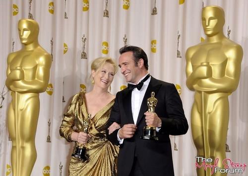Academy Awards - Press Room [February 26, 2012]