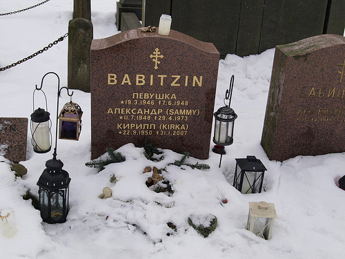 "Aleksandr ""Sammy"" Babitzin (11 July 1948, Helsinki – 29 April 1973"
