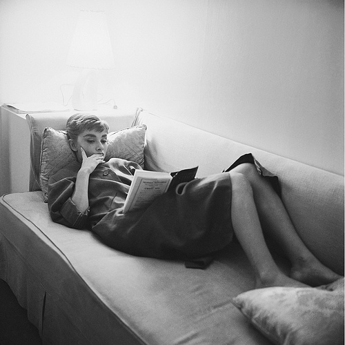 Audrey Hepburn wallpaper with a couch, a living room, and a family room entitled Audrey Hepburn