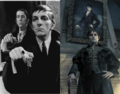 Barnabas Collins Then and Now - dark-shadows fan art