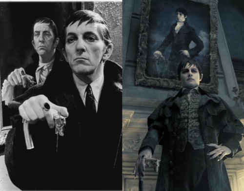 Barnabas Collins Then and Now