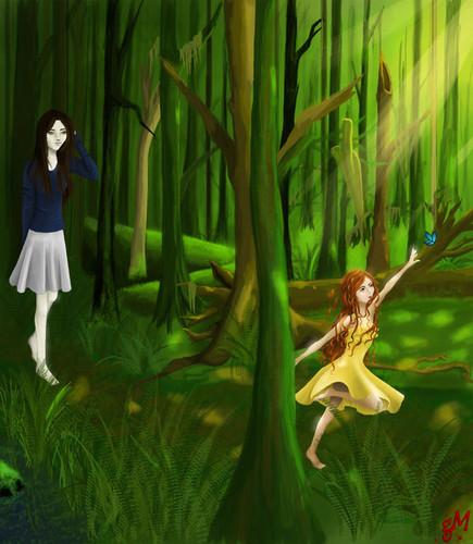 Bella & Renesmee Fanart