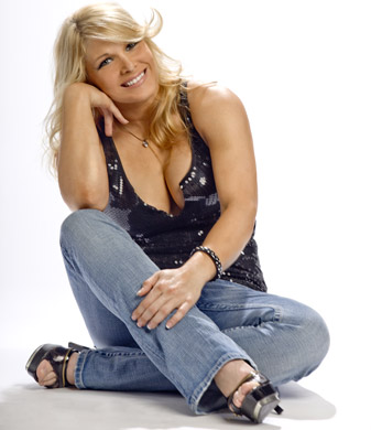 beth phoenix wallpaper probably containing bare legs and a hip boot entitled Beth Phoenix Photoshoot Flashback