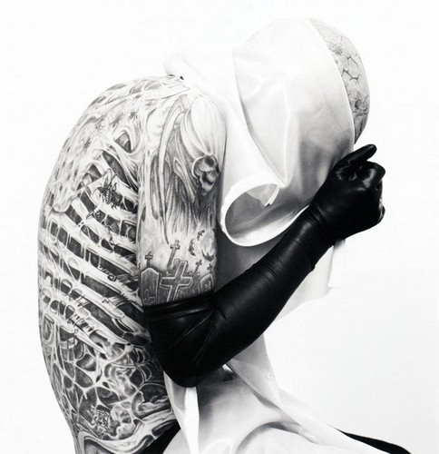 British GQ Style photoshoot - rick-genest Photo