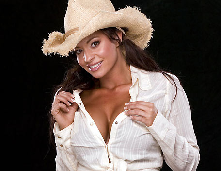 Candice Michelle দেওয়ালপত্র with a fedora, a boater, and a snap brim hat entitled Candice Michelle Photoshoot Flashback