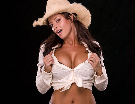 Candice Michelle kertas dinding probably with a fedora and a Pakaian dalam titled Candice Michelle Photoshoot Flashback