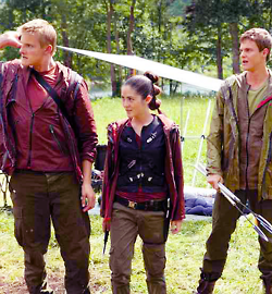 The Hunger Games images Cato and Clove wallpaper and background ...