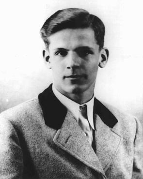 Christoph Hermann Probst ( 6 November 1919, Murnau am Staffelsee – 22 February 1943, Munich)