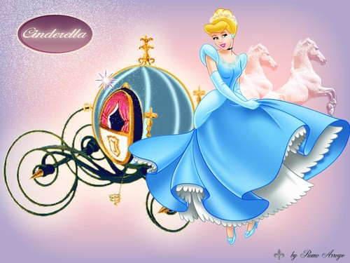 Cinderella wallpaper - photoshop Wallpaper