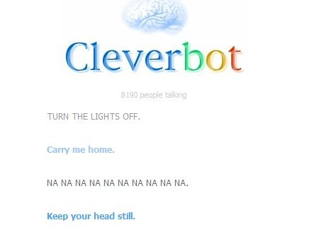 Cleverbot win