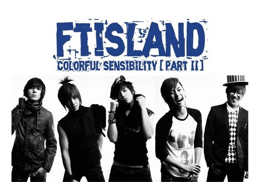 FT ISLAND (에프티 아일랜드) Hintergrund possibly containing Anime titled Colorful Sensibility