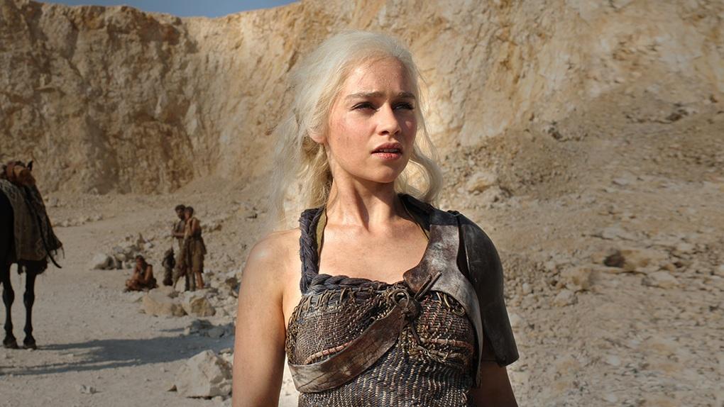 Daenerys and Dothraki