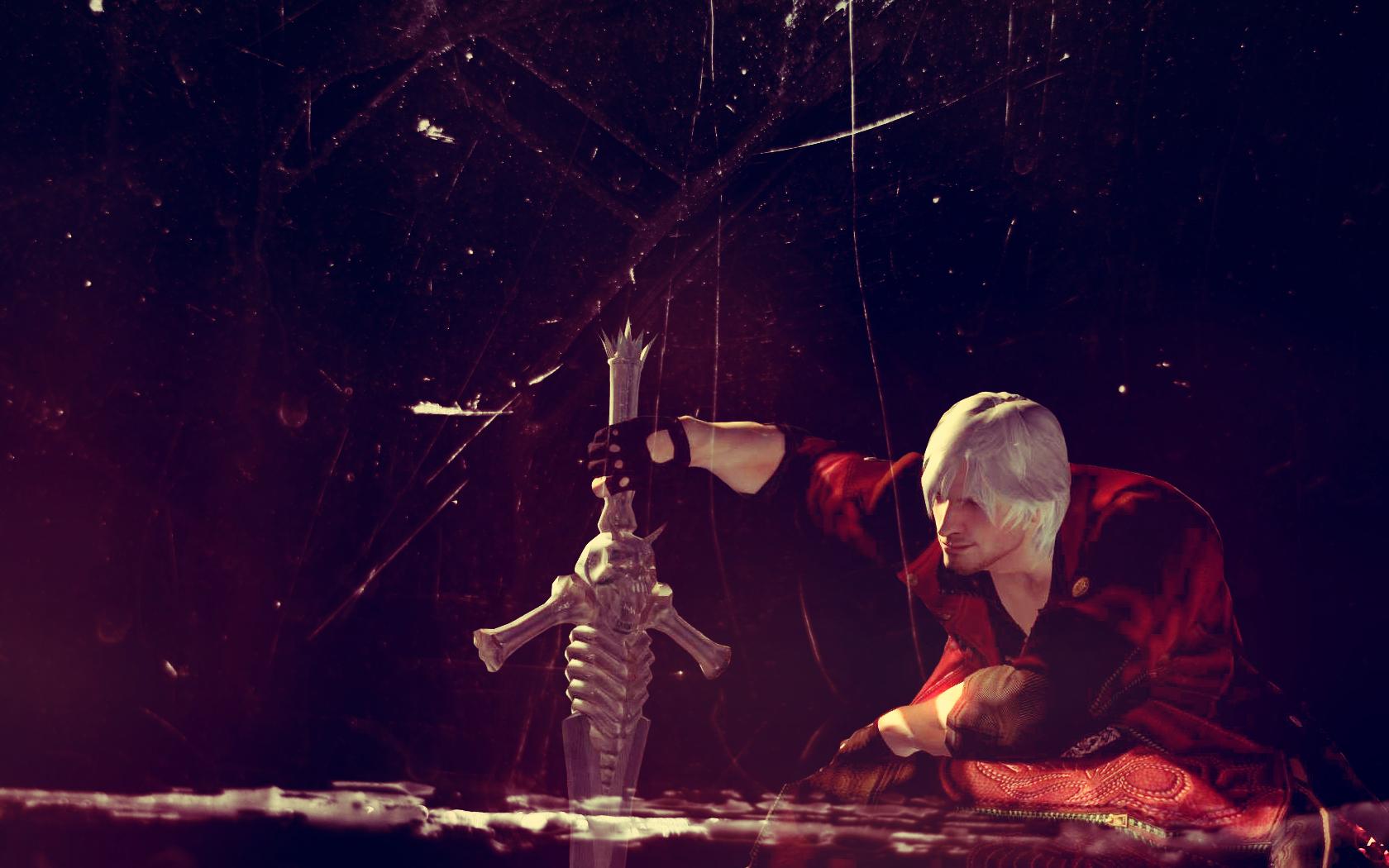 Dante Devil May Cry Wallpaper 30033454 Fanpop