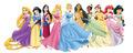 Disney Princess with New Poses