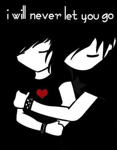 Love wallpaper with anime entitled Don't leave me......