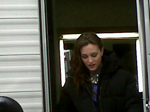EL ON SET (26th March) - blair-and-chuck Photo