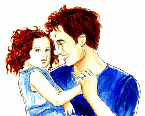 Edward & Renesmee Fanart