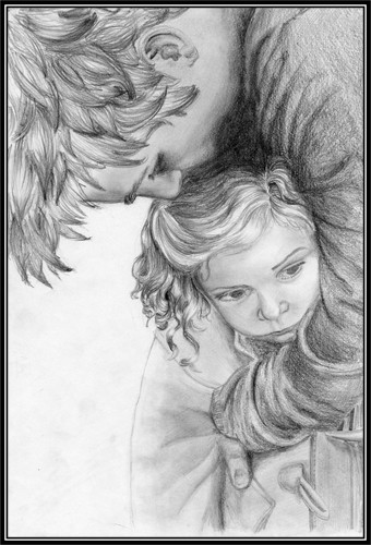 Edward & Renesmee Fanart - edward-and-renesmee Fan Art
