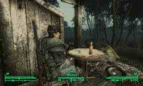 Fallout 3 壁纸 possibly with a lumbermill and a chuck wagon titled Fallout 3