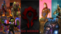 GO HORDE - world-of-warcraft screencap